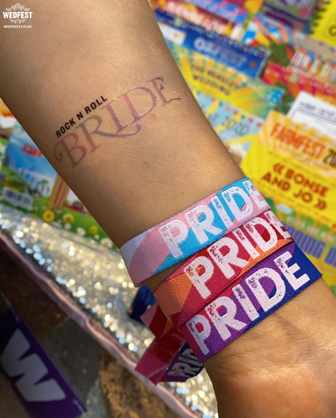 pride wristbands