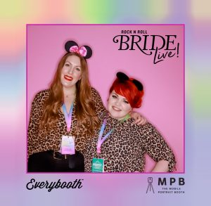 rock n roll bride live photo booth