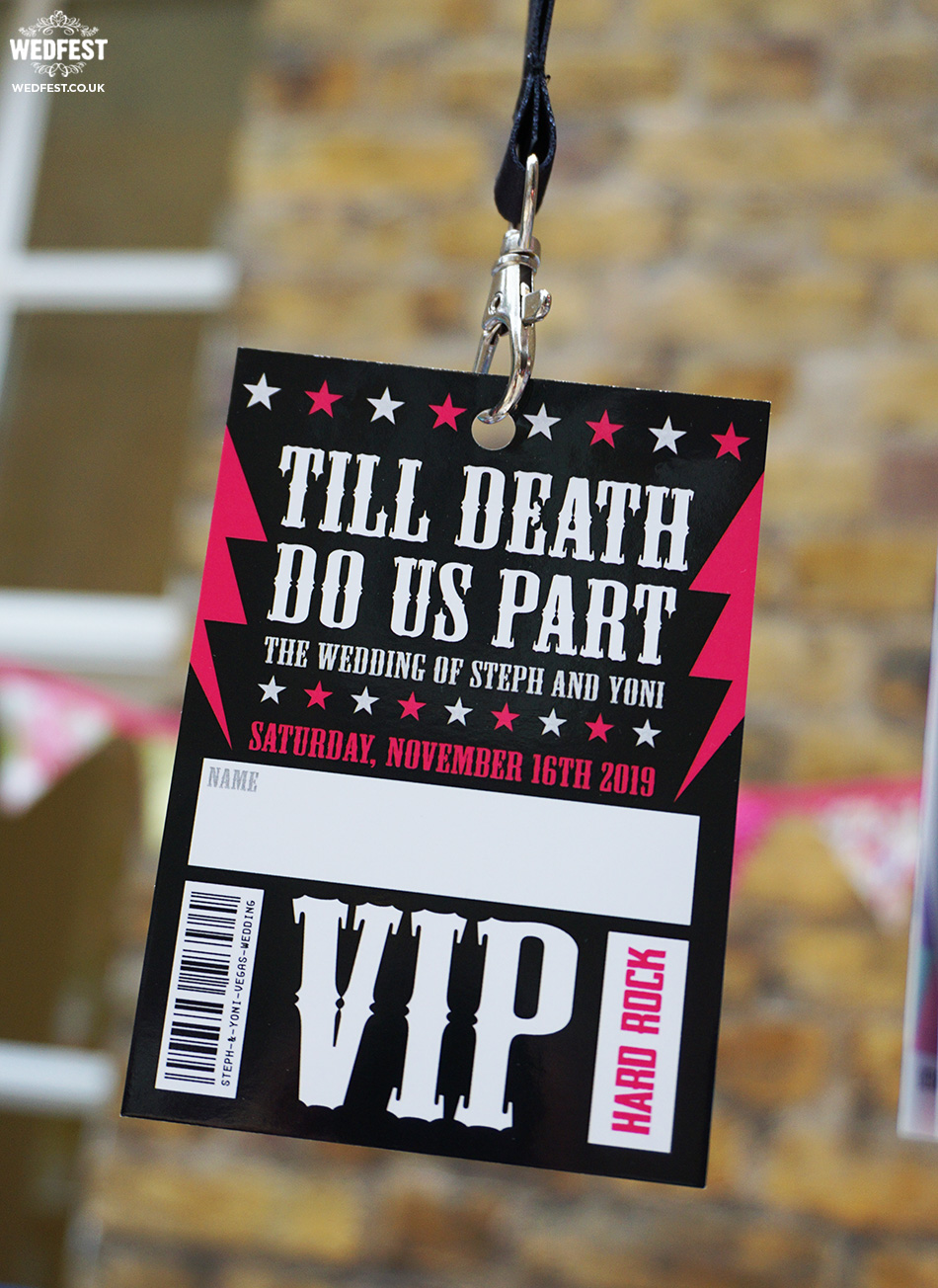 till death do us part wedding stationery