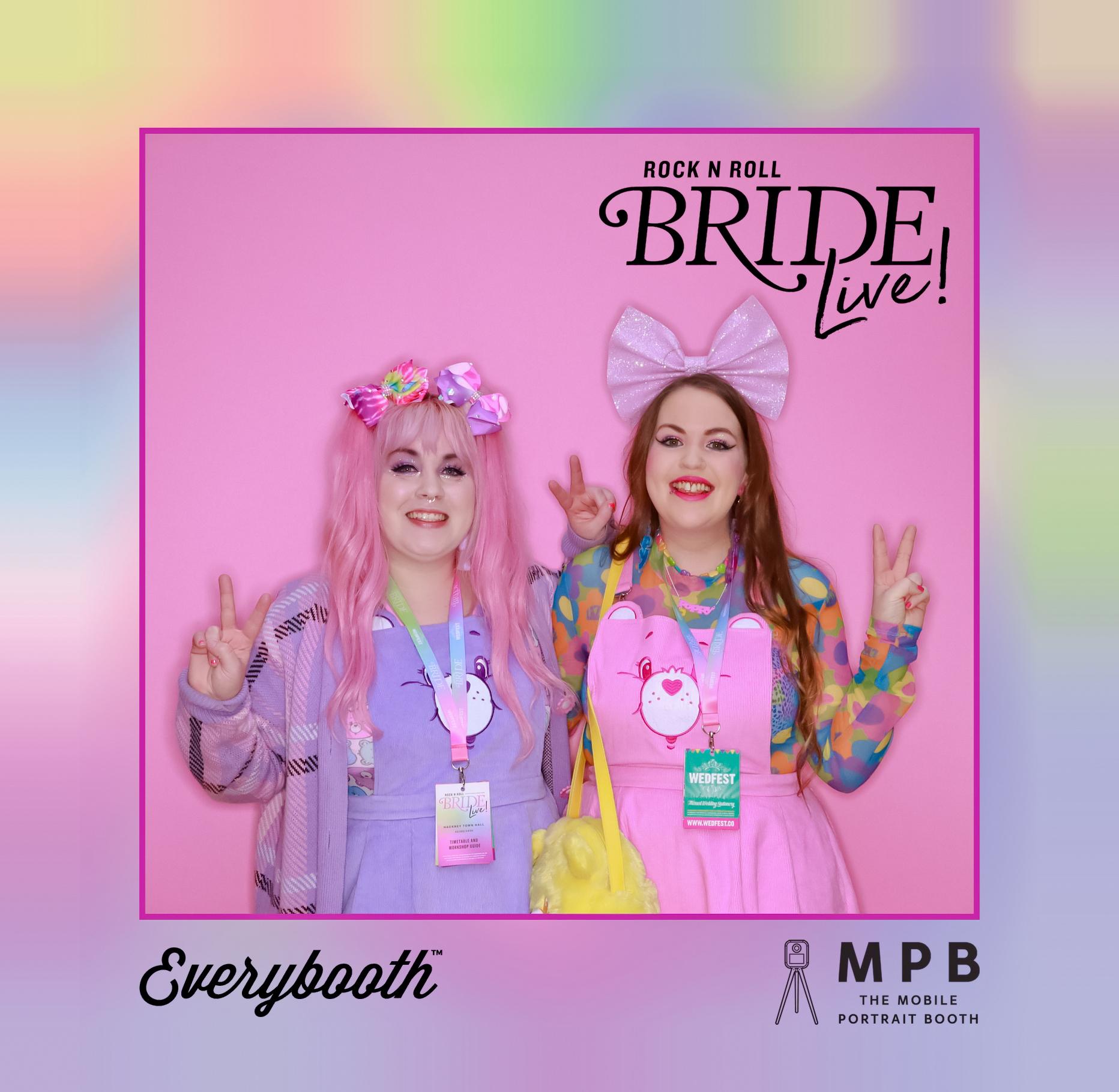 wedfest lanyard rock n roll bride live