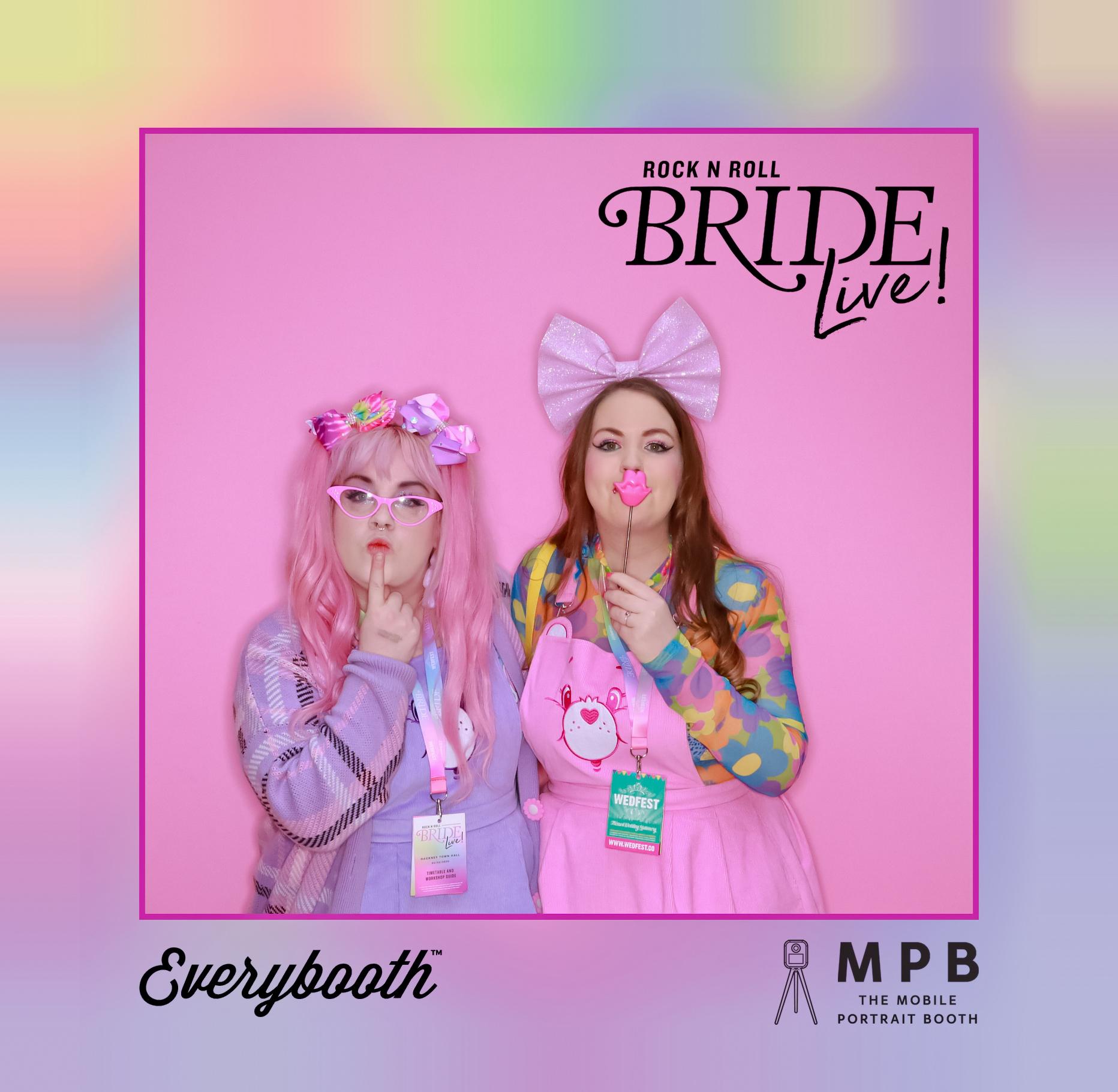 wedfest vip lanyards rock n-roll bride live