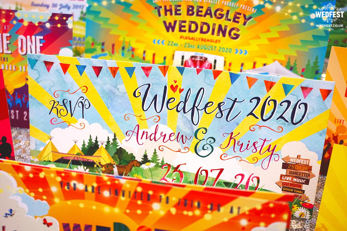 wedfest wedding invites