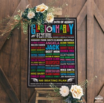 glastonmarry glastonbury wedding table seating plan