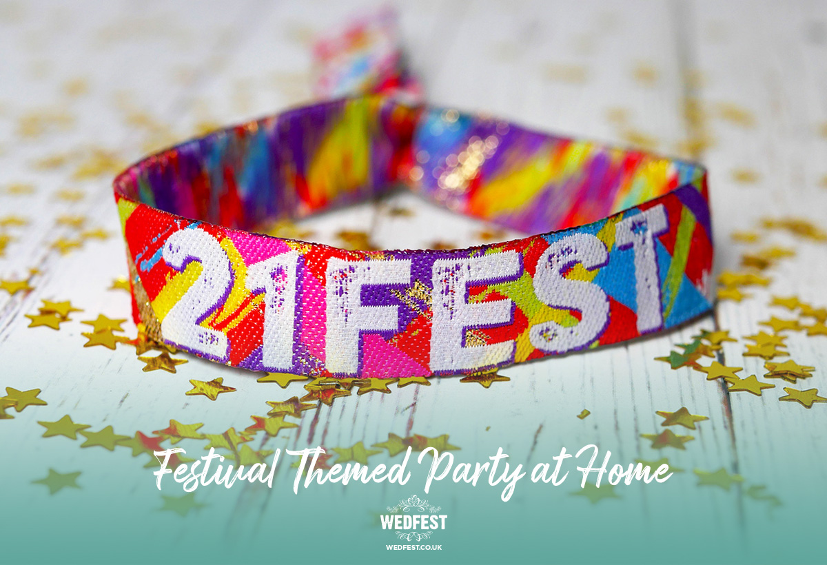 21FEST 21st birthday party festival at home wristbands