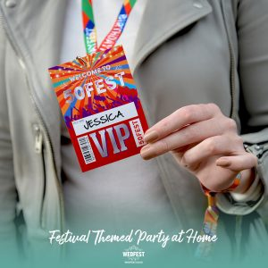 50fest 50th birthday festival party favours