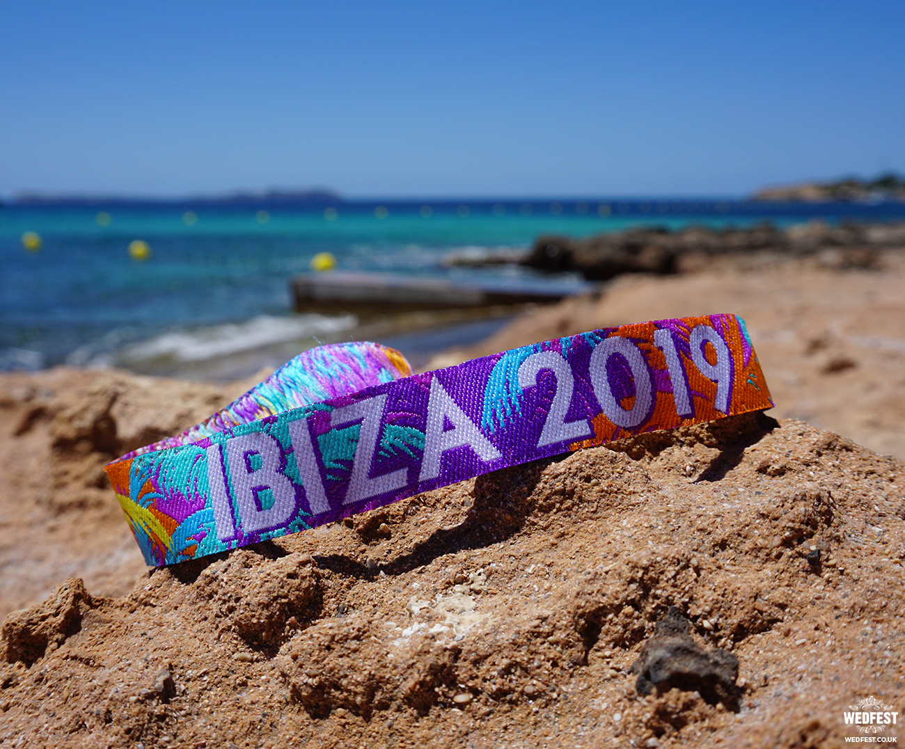 custom ibiza event wristbands