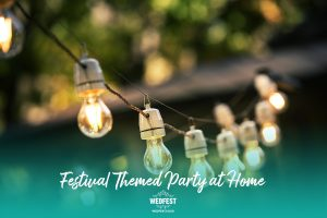 festival birthday party at home lighting decorations