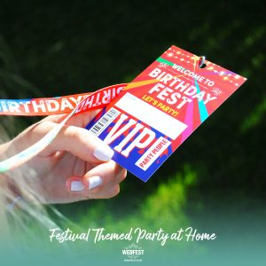 festival birthday party at home party bag fillers