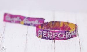 festival performer wristbands