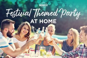 festival themed birthday party at home