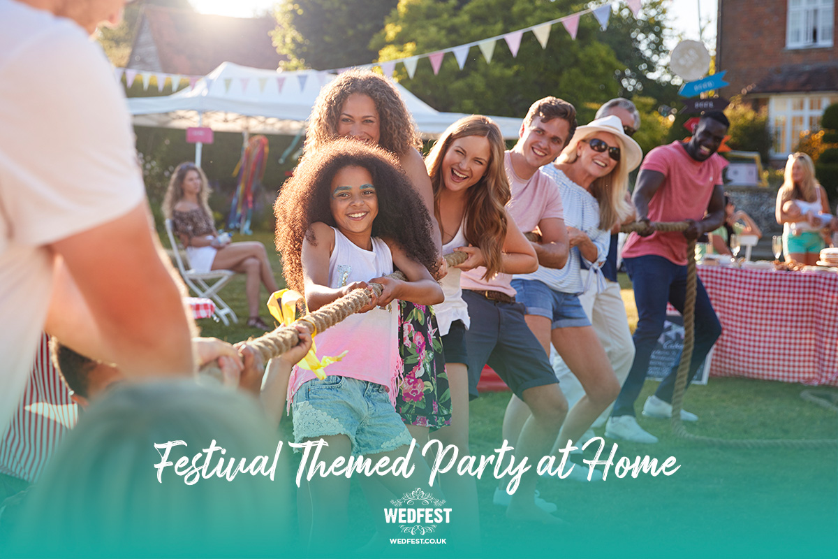 festival themed party at home party games activities