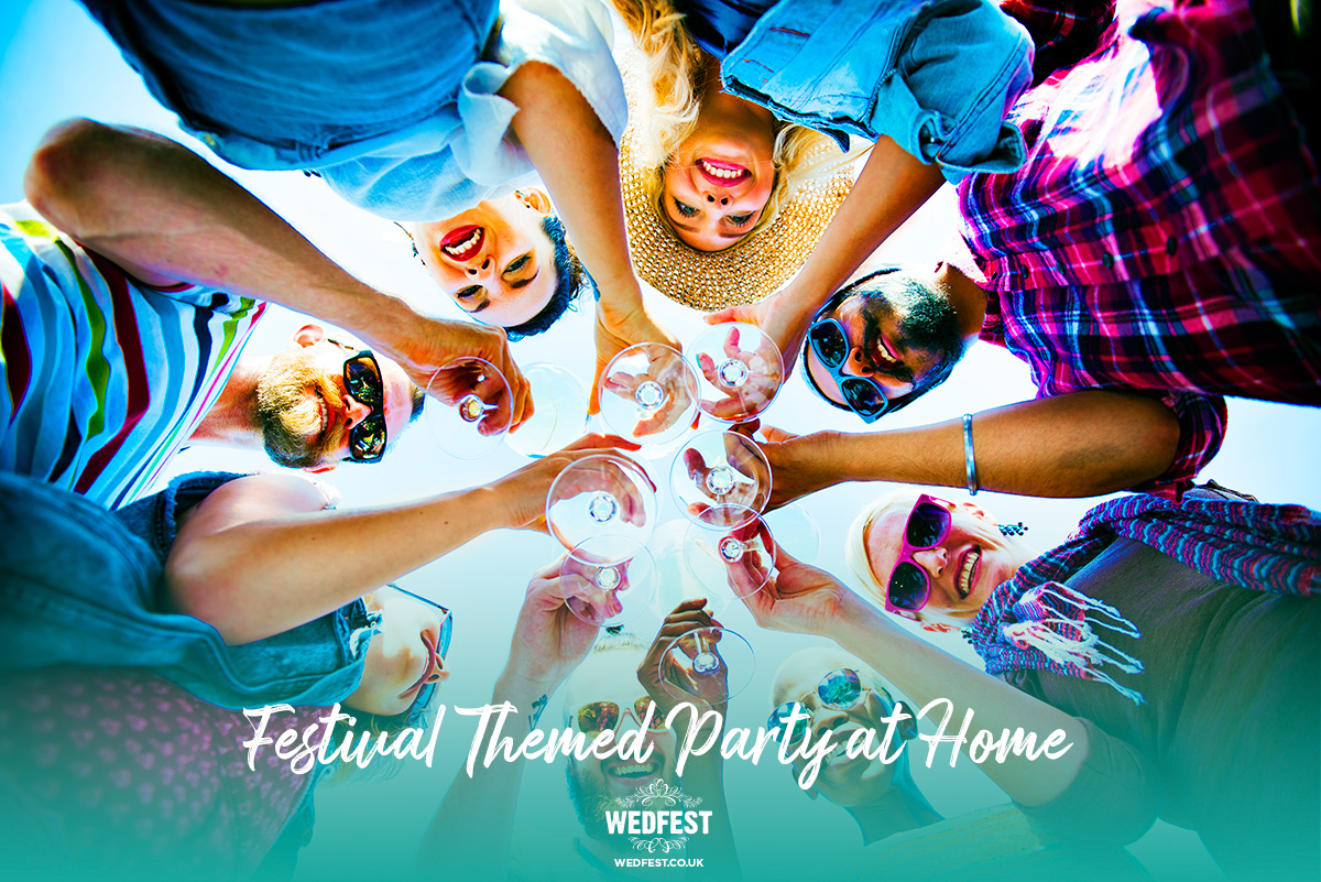 festival themed party at home