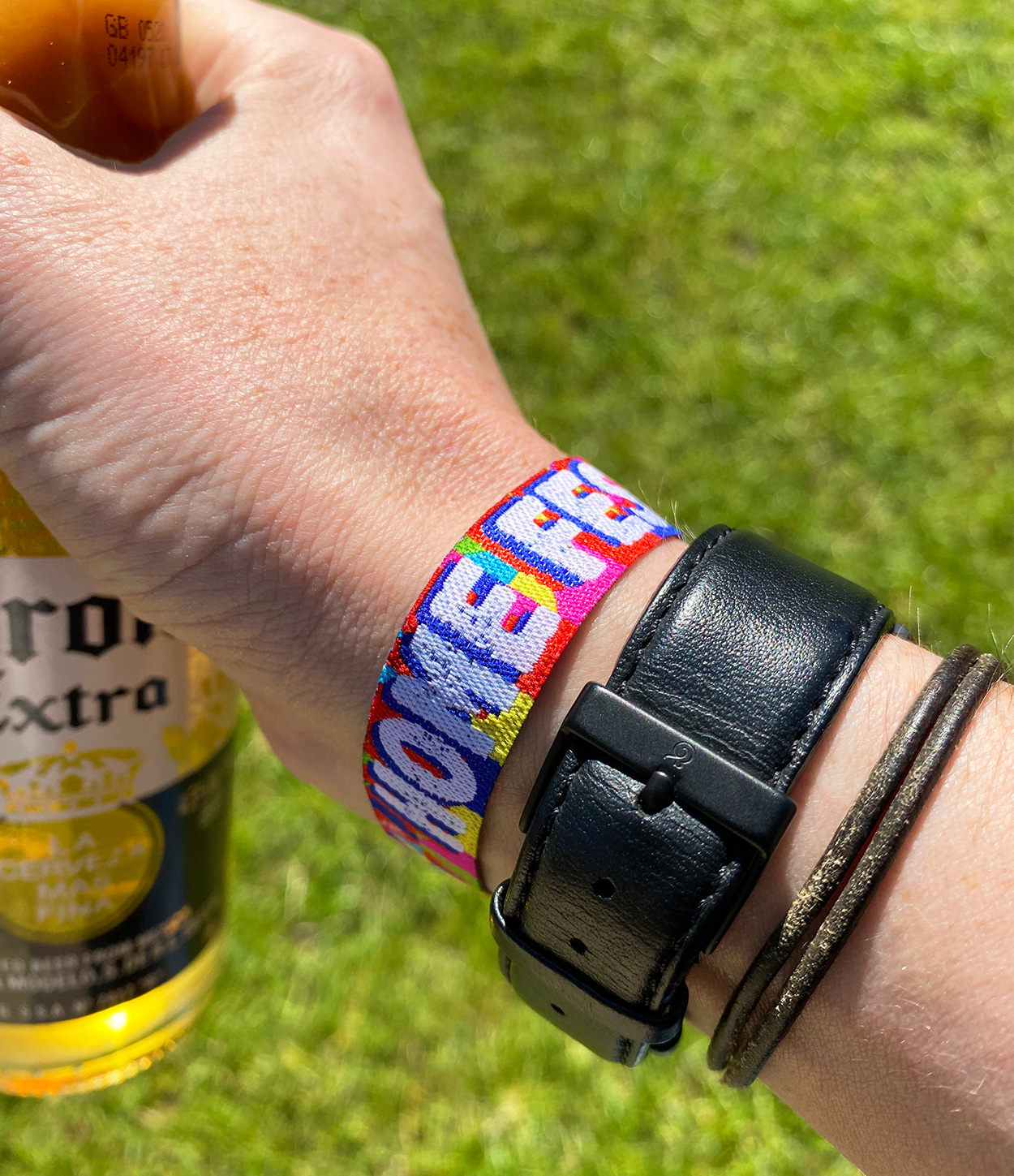 home garden party festival style wristbands
