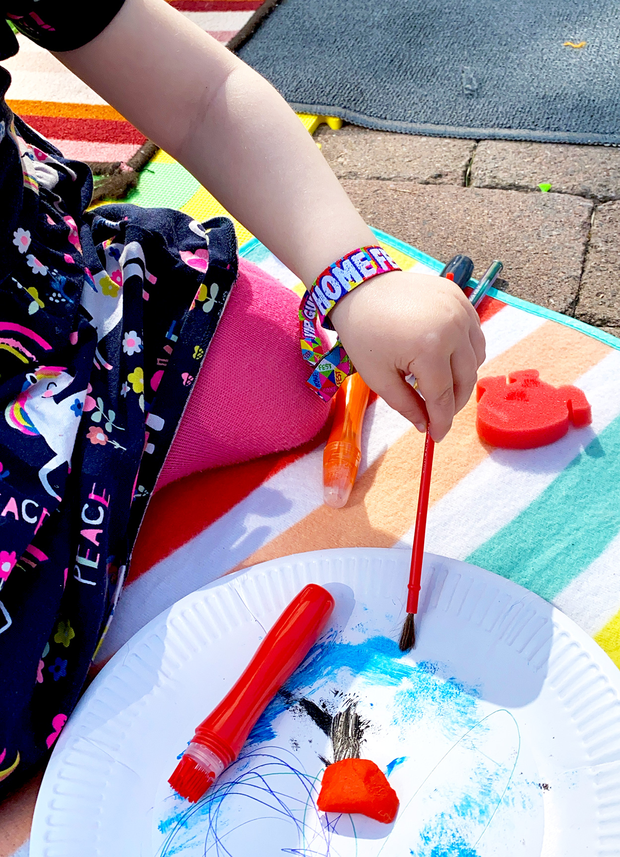 home fest festival kids childrens party wristbands