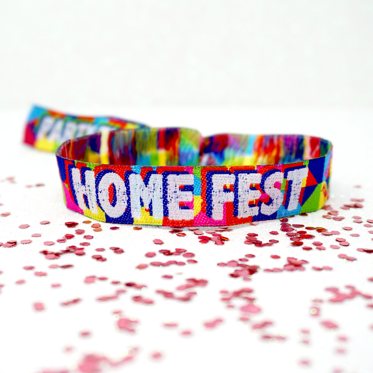 home fest festival party wristbands