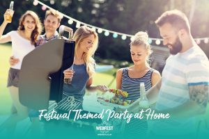 homefest festival birthday party at home food drink ideas
