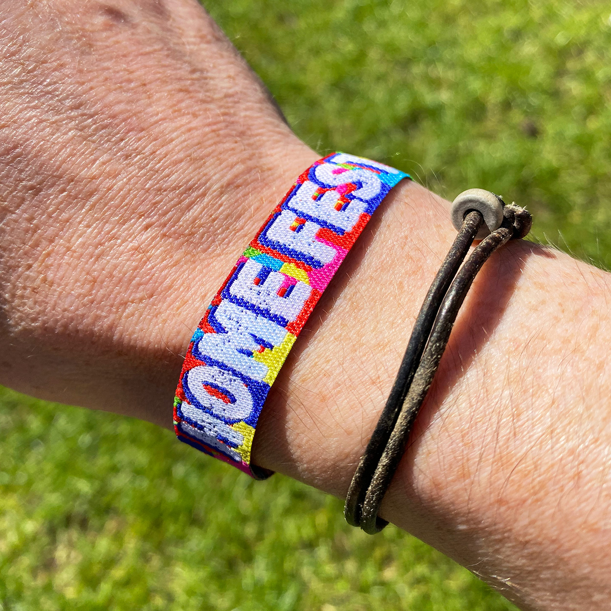 homefest festival garden party festival wristband