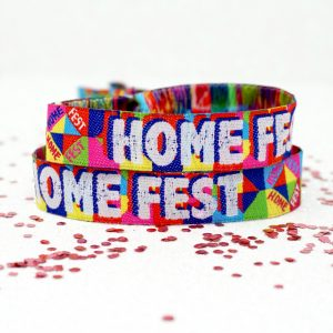 homefest festival house party wristbands