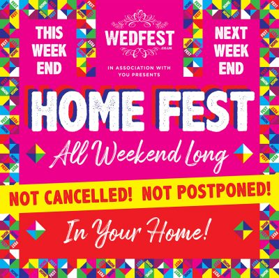 homefest festival stay at home festival party