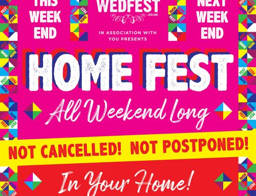 HOMEFEST Festival at Home Party Wristbands