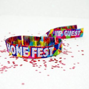 homefest festival wristbands