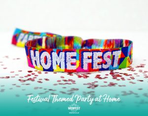 homefest home fest house party festival wristbands