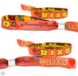 london fashion week custom wristbands