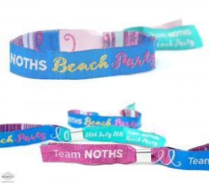 notonthehighstreet business event customised wristbands