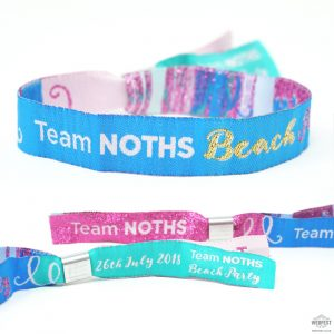 notonthehighstreet corporate event wristbands