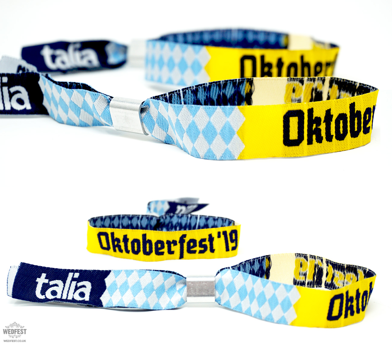 oktoberfest custom event corporate wristbands