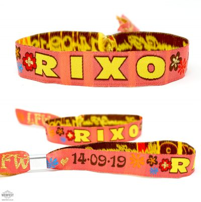 rixo london fashion week wristbands