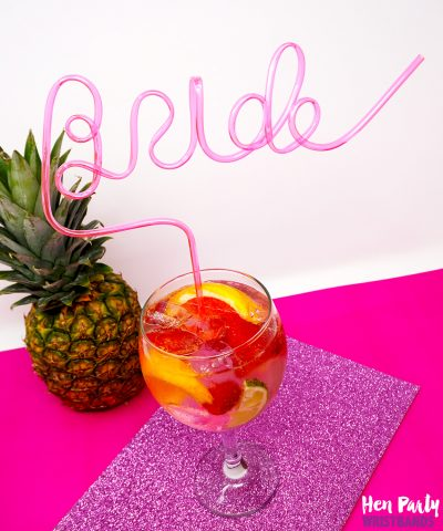 bride straw for hen bachelorette party