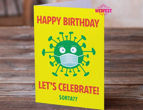 Lockdown Themed Birthday Cards