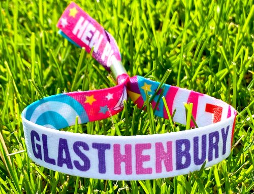 GLASTHENBURY Custom Hen Party Wristbands