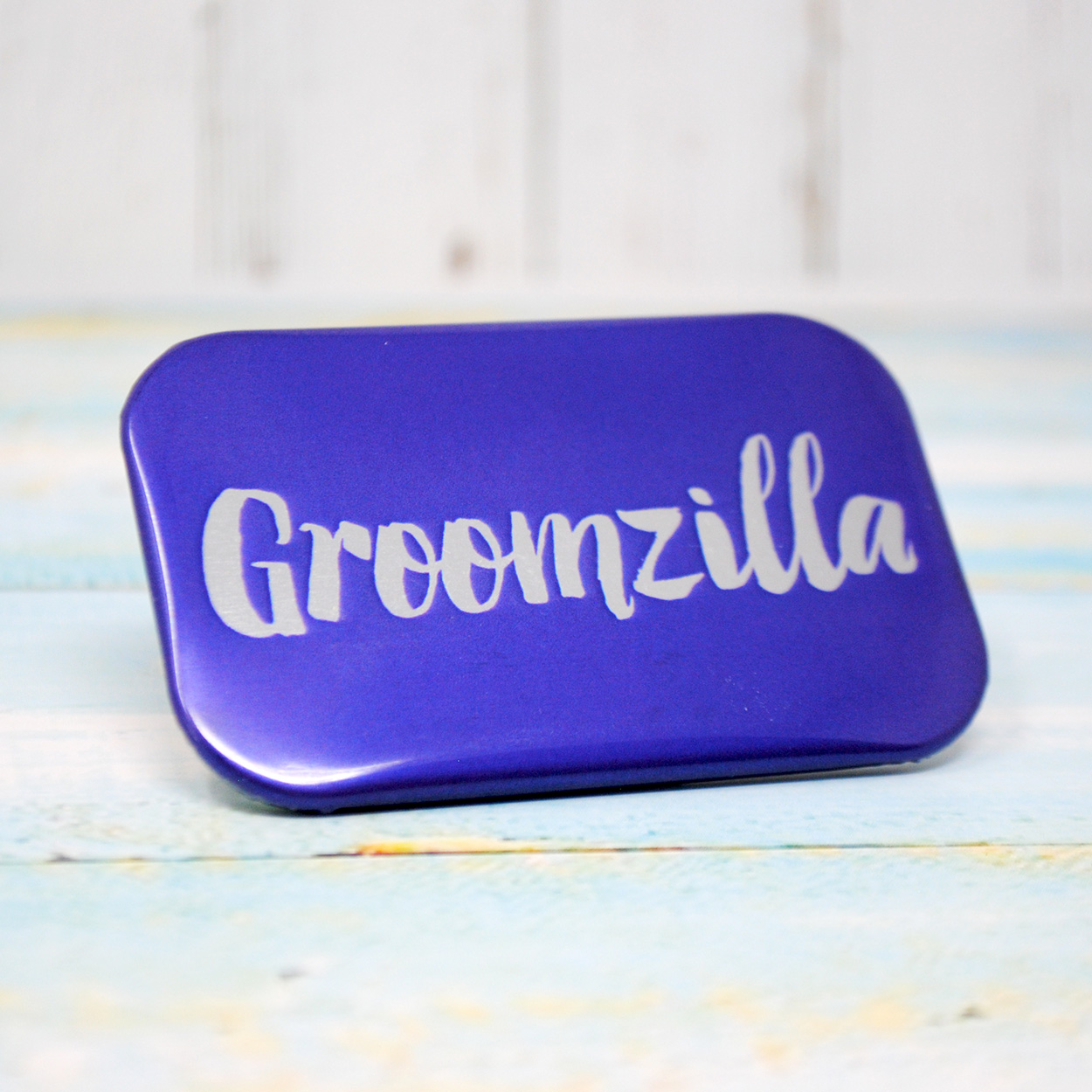groomzilla stag party badge