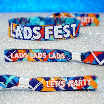 ladsfest lads fest stag do party wristbands