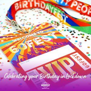 lockdown 60th birthday party 60fest