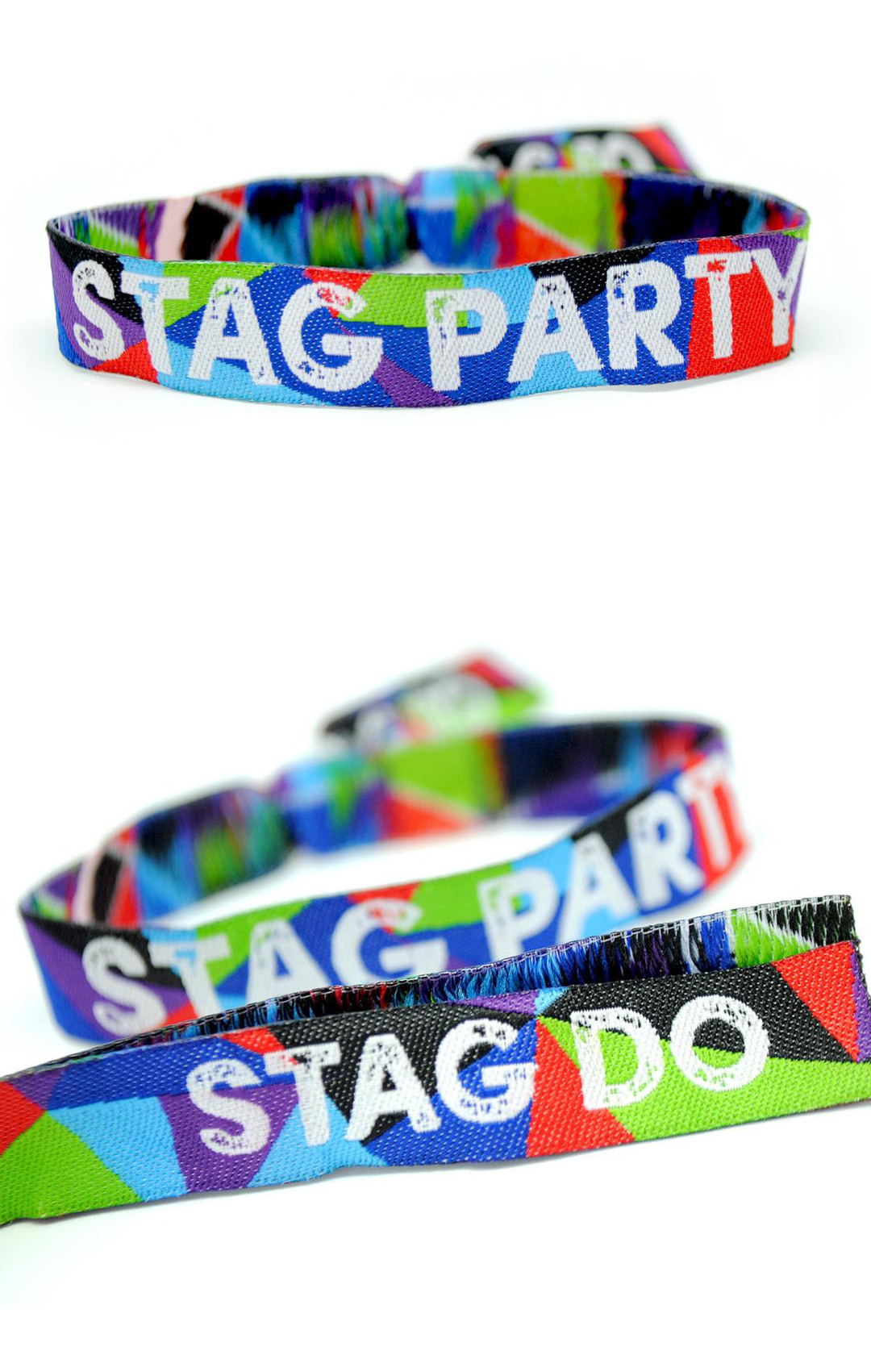 stag do stag party festival wristband