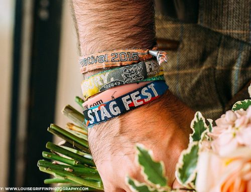 Festival Style Stag Do Party Wristbands