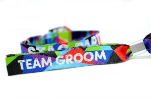team groom stag do party wristband lads